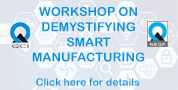 Workshop on 29 Oct Smart Manufacturing