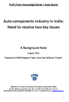 Auto-components industry in India: Need to resolve two key issues